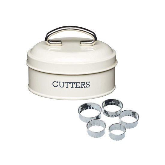 Set 5 forme si cutie depozitare 11 cm - Kitchen Craft