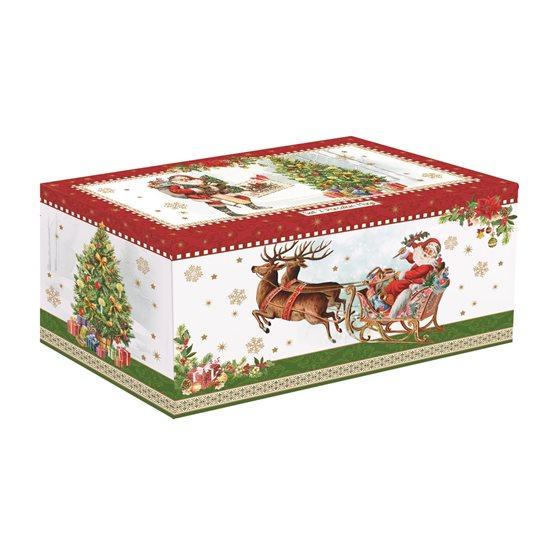 """Set 2 cani 350 ml """"Vintage Christmas"""" - Nuova R2S"""
