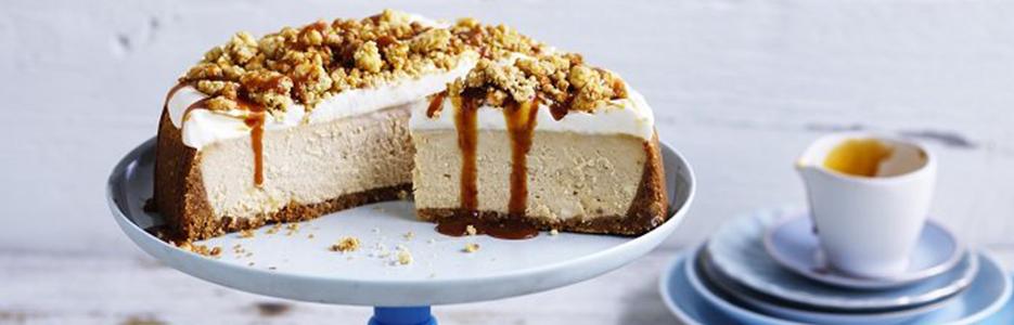 New York Cheesecake cu caramel sărat by KitchenAid