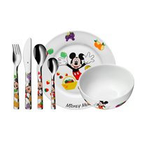 "Set servire masa copii 6 piese ""Mickey Mouse"" - WMF"