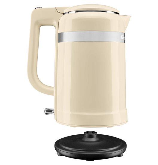 Fierbator electric Design 1,5 L, Almond Cream - KitchenAid