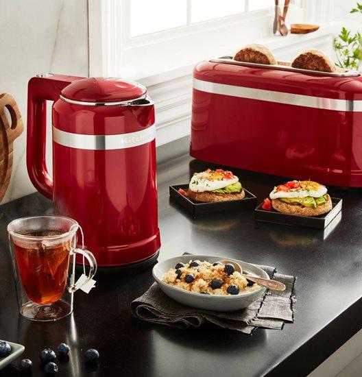 Fierbator electric Design 1,5 L, Empire Red - KitchenAid