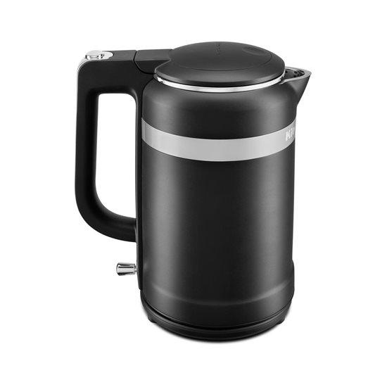 Fierbator electric Design 1,5 L, Matte Black - KitchenAid