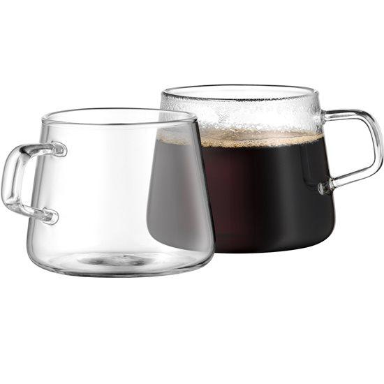 """Set 2 cani cafea din sticla 0.25 l """"Coffee Time"""" - WMF"""