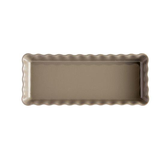 Tava ceramica pentru tarte 36 x 15 cm/1.3 L, Flint - Emile Henry