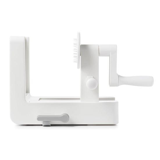 Dispozitiv de spiralat cu 3 lame interschimbabile - OXO