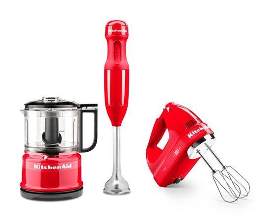 Blender vertical cu 5 viteze 180W, editie speciala, Passion Red - KitchenAid
