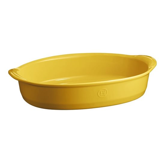 Tava ovala din ceramica, 41,5 x 26,5 cm/ 3,8 l, Provence yellow - Emile Henry