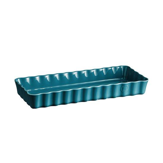 Tava ceramica pentru tarte 36 x 15 cm/1.3 L, Mediterranean Blue - Emile Henry