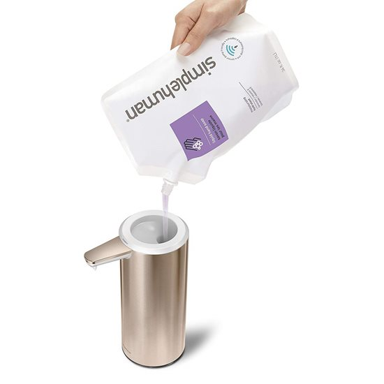 Dozator cu senzor pentru sapun lichid 266 ml, rose gold - SimpleHuman