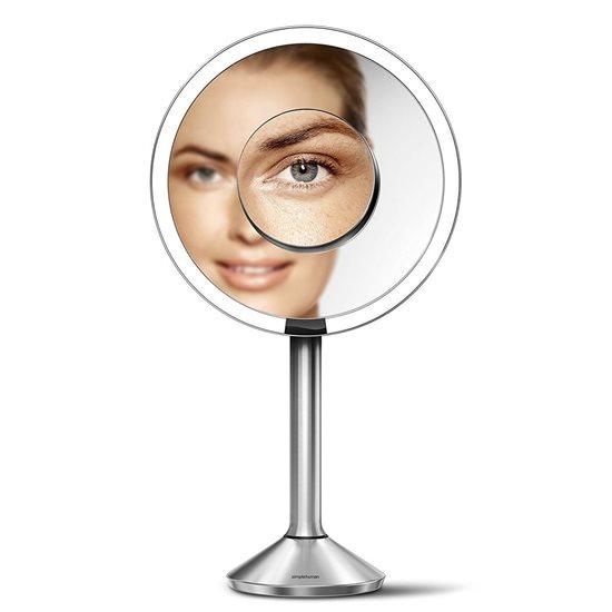 Oglinda cosmetica cu senzor, 23 cm - SimpleHuman