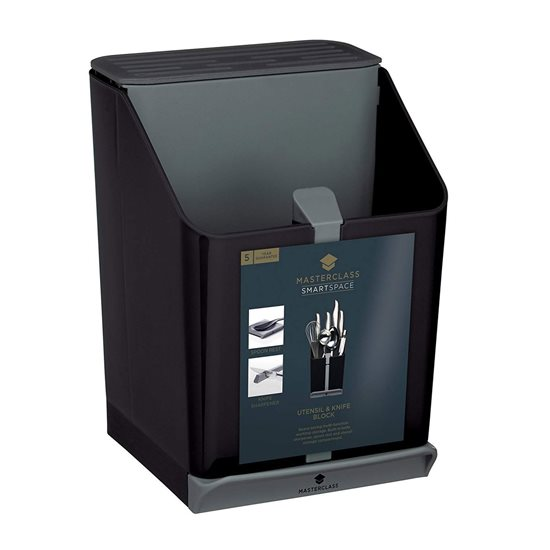 "Suport 4-in-1 pentru cutite/ustensile de bucatarie ""MasterClass"" - Kitchen Craft"