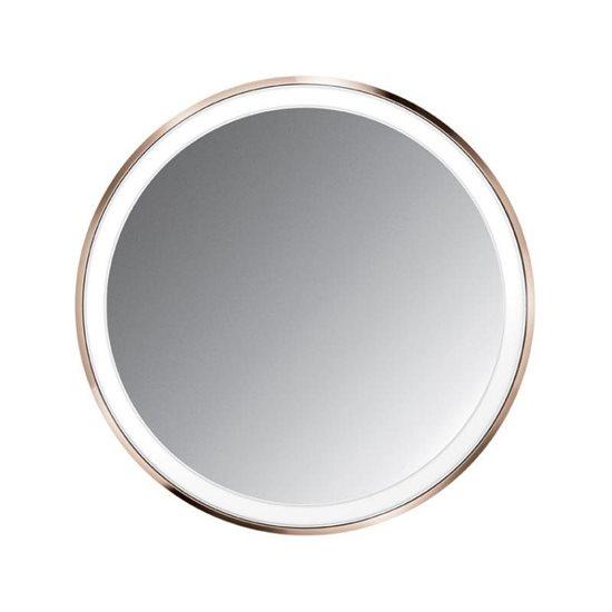 Oglinda cosmetica de buzunar cu senzor, 10,4 cm, Rose Gold - SimpleHuman