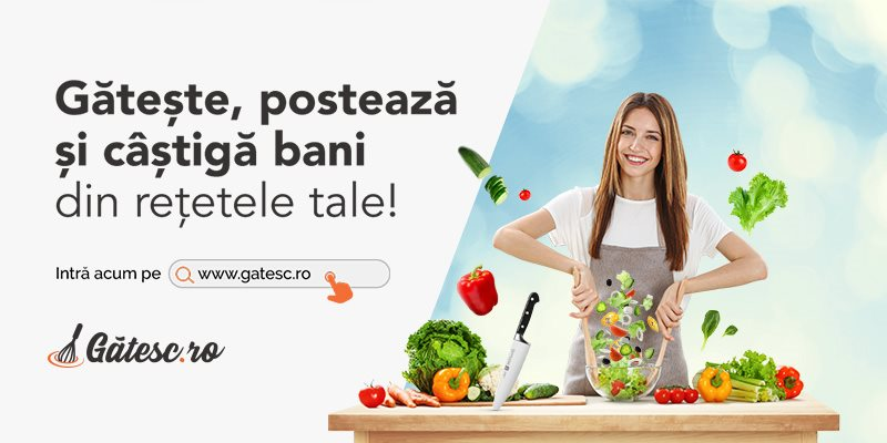 Gatesc.ro - Bucataria pasionatilor de gatit