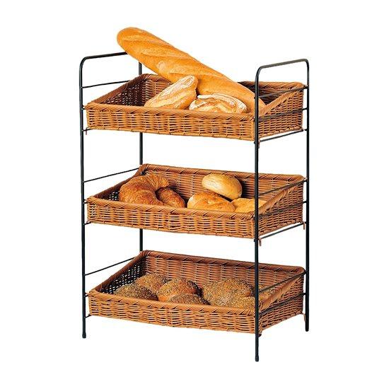 Etajera metalica pentru paine 66 x 45,5 cm - Kesper