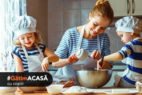 Gătim acasă cu copii