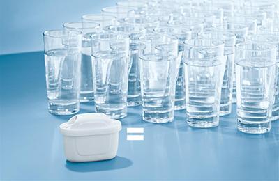 Un filtru maxtra filtreaza pana la 150 de litri de apa